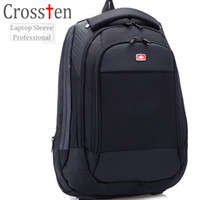 "Wholesale Multifunctional Laptop Backpack - Crossten Swiss Bag Multifunctional 15"" laptop backpack Waterproof Travel Bag Versatile Schoolbag Rucksack"