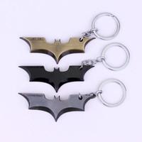 dc batman toptan satış-DC Comics Süper Kahraman Batman Anahtarlık Justice League Süper Kahraman Marvel Örümcek Adam Araba Anahtarlık Infinity Savaş Anahtarlık