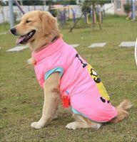 freie völker kleidung großhandel-Pet Kleidung Gelbe Menschen Golden Retriever Samoyed Husky großer Hund Kleidung Herbst Winter Mantel Jacke Freies Verschiffen