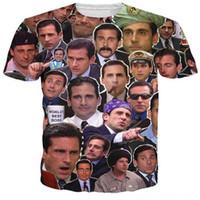 ingrosso t-shirt zombie-T-Shirt The Walking Dead Paparazzi Rick Grimes Carl Daryl Michonne Zombies T-Shirt 3D Estate Stile T Shirt Donna Uomo Top Tees