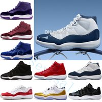 sale retailer 21e20 b11ef 2018 pas cher 11 Gymnase Rouge Chicago Midnight Navy GAGNER AIMER 82 96  Space Jam 45 Chaussures de basketball pour hommes 11s Athletic Concord  Infrared 23 ...