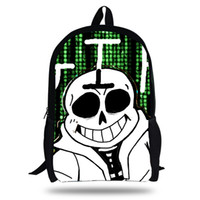26b30bd96782 2018 Newest Classic Game Undertale Printing Children School Bags Boys  Teenage Girls character Sans asriel Torie Casual Backpacks