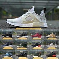 Wholesale floor borders - 2018 New Original NMD_XR1 PK Running Shoes Cheap R1 NMD XR1 Runner japan Primeknit OG PK Human Race Black White Men Women Casual Sneakers