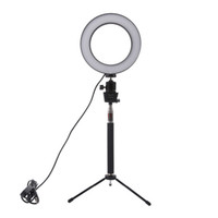 Wholesale lighting for photo for sale - Group buy Lightdow Dimmable LED Studio Camera Ring Light Photo Phone Video Light Lamp With Tripods Selfie Stick Ring Fill Light For Canon Nikon Camera