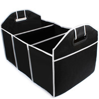 Wholesale wholesale car trunk organizer for sale - Car Trunk Organizer Car Toys Food Storage Container Bags Box Styling Auto Interior Accessories Supplies Gear Products EA10405