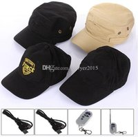 Wholesale hd hat camera - Multifunction Baseball Cap mini Camera HD 1280*720P Hat video camera Cap MINI Pinhole Camera DVR with Remote Control support TF card