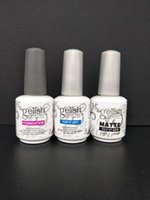 Wholesale harmony gelish nails for sale - Soak Off Nail Gel Polish For Nail Art Gel Lacquer Led uv Harmony Gelish Base Coat foundation top it off matte top it off