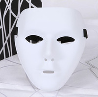 Wholesale classic movie star costumes online - JabbaWockeeZ Men Women Halloween PVC Material Full Mask Cosplay Costume Accessories Mysterious Mask Masquerade Party Mask