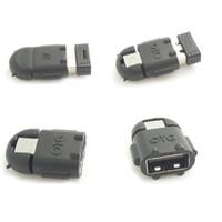 maus für brombeere großhandel-1000pcs / lot OTG-Adapter-Karikatur-Roboter-Micro-USB zu USB-Kabel für Universal-Android-Smartphone und Tablet-PC-Mäusetastatur mit OTG