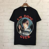 Wholesale Fashion Little Boy - 2018 dongguan_wholesale Little Boy Print Women Men T shirts tee Hiphop Brand Designer Men Cotton T shirt Tops tees