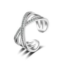 pandora zirkonoxid ring großhandel-Meistverkaufte 925 Sterling Silber Hochzeit Party Ringe mit Zirkonia Ring Fit Anzug Frauen Pandora feinen Schmuck Großhandel