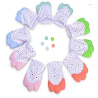 Wholesale teether teeth for sale - Group buy Baby Silicone Chew Teething Pacifier Clip Bite Proof Teething Accessory Molar Tooth Glove Children Phonation Gum Teether Toy gl bb