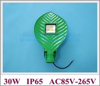 Wholesale led casting - 30W leaf shape LED street light lamp LED road light waterproof IP65 30W AC85V-265V input die-cast aluminum leaf style RJ-LS-K