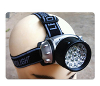 Wholesale miner lamps resale online - 21 LED Outdoor Camping Cycling Fishing Climbing Miner Waterproof Headlight Lamp