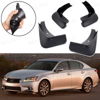New 4pcs Car Mud Flaps Splash Guard Fender Mudguard Fit for Lexus GS 250 350 450h 2013-2017