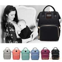Wholesale diaper men for sale - Group buy Fashion Large Mummy Maternity Nappy Diaper Bag Baby Bag Travel Backpacks Backpack