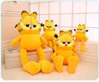 Wholesale giant animals - NEW Giant Garfield Soft Toy Figure Doll Huge Plush Lovely Gift Plush Garfield Cat Plush Stuffed Toy