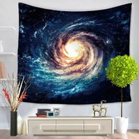Wholesale beach sheets towels - 1 PCS Starry sky wall tapestry multifunction printing beach towel tablecloth bed sheet for home decoration supplise 6 style free ship