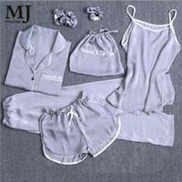 Wholesale suit pijamas resale online - MaiJee Pic Pijama Set Pijama Feminino Pyjama Femme Pigiama Donna Pyjamas Women Pijamas Mujer Pajamas Night Suit Sleepwear