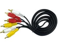 vidéos de produits achat en gros de-Compteurs de câble audio Line trois, câble vidéo AV, câble d'affichage DVD, accessoires numériques pour ordinateur