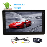 Wholesale korean car styling - EinCar Android 7.1 Car Stereo System Double 2 Din Bluetooth Dual Car FM AM Radio Receiver Full Touchscreen Tablet Style Dispaly Wifi