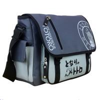 totoro taschen großhandel-Mein Nachbar Totoro Messenger Bag Schlinge Satchel Anime Schultertaschen