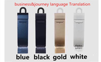 Wholesale Kinds Cell Phones - 16 kinds language Translation earbud Bluetooth 4.1 earphone Suppot Face to face real-time translation mobile phone with wireless headset