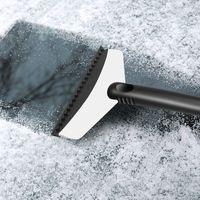 kar temizleme kazıyıcılar toptan satış-Auto Car Araç Kar Buz Kürek Kazıyıcı Temizleme Temiz Aracı Buz Temizleme Temizleme Aracı Paslanmaz Ve ABS Siyah