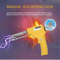 ingrosso ferro saldato senza piombo-Commerci all'ingrosso Spedizione gratuita NL - 106A Pistola manuale per saldatura 60W con una sola mano Piombo americano Stazioni di saldatura