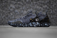 gri kd ayakkabı toptan satış-2018 Nike KD 11 CHAMPIONSHIP  Basketbol Ayakkabı Siyah Gri KD 11Persian Altın Sıçramak Sneakers Kevin Durant 11 s Tasarımcı Ayakkabı Mens Eğitmenler Ayakkabı Kutusu Olmadan