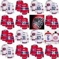 Wholesale Alex Galchenyuk Jersey - 2017 100th Classic 67 Max Pacioretty 31 Carey Price 6 Shea Weber 65 shaw 14 Tomas Plekanec Alex Galchenyuk Drouin Montreal Canadiens Jersey