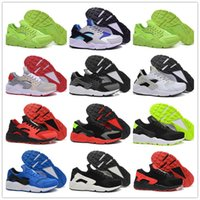 Wholesale discount outdoor sports resale online - Drop Shipping Running Shoes Men Cheap Air Huarache Sneakers Boots for Discount Air Huarache Men s Sports Shoes Size