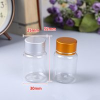 Wholesale capsule container resale online - Empty Plastic Medicine Capsule Bottle Tablets Storage Container Medical Liquid Refillable Bottle Pills Package F541