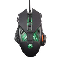 Wholesale electronics gaming for sale - Group buy E700 multi function breathing lamp luminous steel plate electronic sports wired usb gaming esports mouse photoelectric office DPI gift