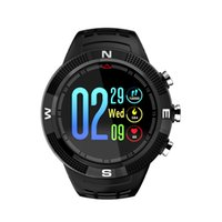 oled anzeigen großhandel-F18 Smartwatch Bluetooth4.2 mit Bluetooth GPS, Multi-Sport-Modus, IP68 Wasserdicht, 1,3 Zoll OLED-Farbdisplay, Herzfrequenz-Erkennung
