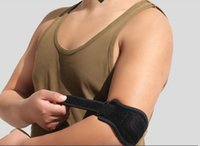 Wholesale Neoprene Knee - Adult's Adjustable Fitness Elbow Support Strap Pad Neoprene Tennis Golf Sports Muscle Pressurized Protective