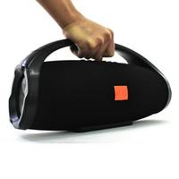 iphone boombox achat en gros de-Haute qualité Super BOOMBOX Portable Haut-Parleur Mp3 Bluetooth big Boombox Colonne Subwoofer Haut-parleurs Portable Pour Smart iPhone Powerbank