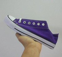 calçado de lona superior venda por atacado-Low top das mulheres sapatos de lona série dos homens Clássico Lace up amante sapatas de lona calçados unisex Sapatilhas sapato business casual shoes