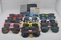 Wholesale cat uv protection glasses for sale - High quality Brand Designer Fashion Men Sunglasses UV Protection Outdoor Sport Vintage Women Sunglasses Retro Eyewear With box and cases