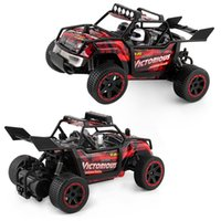 Wholesale diecast 18 - RC Toys High Speed 1:18 2.4G Remote Control Car Cross Country Drift Climbing Child Kid Toy 52xd V