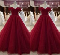 Hot selling New Sweetheart Neck Quinceanera Dresses With Capped Sleeves Tulle Ball Gown Sweet 16 Dresses Sweep Train Prom Gowns