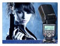 ingrosso telecamera flash yongnuo-Yongnuo YN-560III Speedlite Flash Per Nikon Fotocamera SLR D3100 D3000 D5100 D5000 D80 D90 D60 Spedizione Gratuita