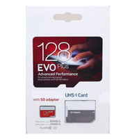 ich karte mobil großhandel-2020 Meistverkaufte 256 GB 128 GB 64 GB 32 GB EVO PRO PLUS 100 MB / s UHS-I Class10 Mobile Speicherkarte 95 Mbit / s 80 Mbit / s U1 U3 Ultra Fast Read Write Real