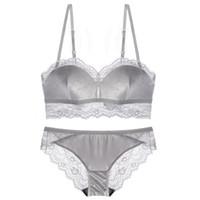 04c482dd63ed3 Wholesale sexy fur bra online - Sexy fur intimates thin cup Bra Brief Sets  seamless comfortable