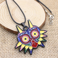 Wholesale legend zelda jewelry - Hot Fashion Game Jewelry Legend of Zelda Game Owl Necklaces Leather Chain Necklace Jewelry For Gift