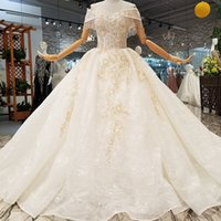Wholesale buy direct from china online - Luxury Organza Wedding Dress Appliques Off The Shoulder Sweetheart Flowers Tassel Wedding Gown Buy Direct From China Real Factory