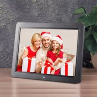 Wholesale digital frame remote control for sale - Group buy 12 Inch HD TFT LED Digital Photo Frame Electronic Frame Support Wireless Remote Control