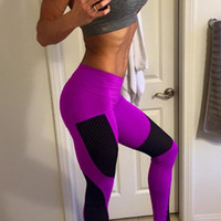 Wholesale Women Skinny Yoga Pants Sports GYM Clothing Wear Female Fitness Long Pencil Pants Hip Up Casual Spring Summer Trousers