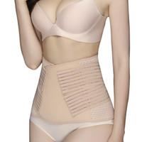 ceinture de récupération de soutien post-partum achat en gros de-Post-partum bandage maternité shaper corset amincissement respirant récupération bandage enceinte soutien abdominale ceinture athlétique