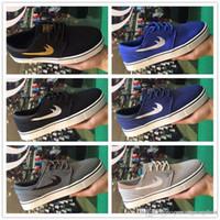 stefan janoski max chaussures achat en gros de-2018 Nouveau SB Stefan Janoski Chaussures Chaussures De Course Pour Femmes Hommes, Sport Qualité Baskets Baskets Chaussures Maxes Taille Eur 40-45